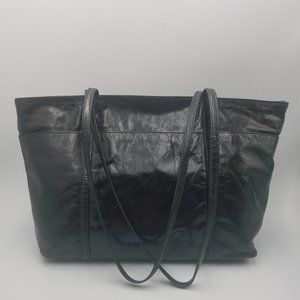latico Bags - Latico Medium Black Leather Zipper Satchel Tote